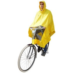 Hooodie Poncho Uno-Dimensione-Fits-All Giallo