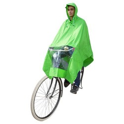 Hooodie Poncho Uno-Dimensione-Fits-All Verde